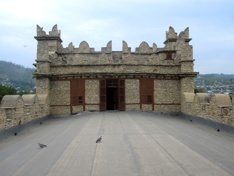 Palace of Emperor Yohannes in Mekele (roof)