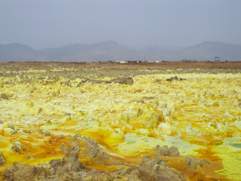 Canadian research station in Dallol