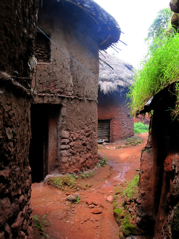 Priest village in Lalibela, a live remnant of the 8-century long tradition